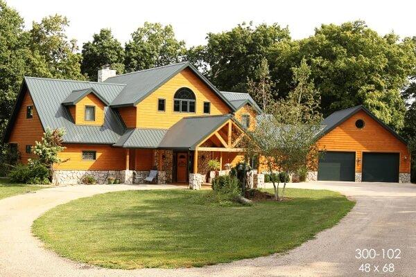 pole barn cabin