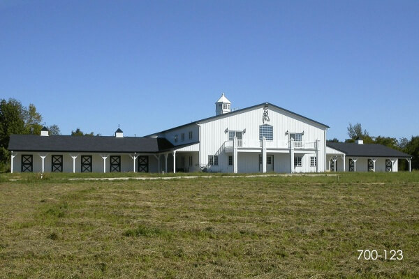 post frame horse facility