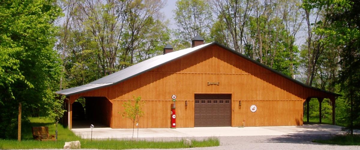 pole built storage building